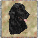Flat-Coated Retriever Small Blanket