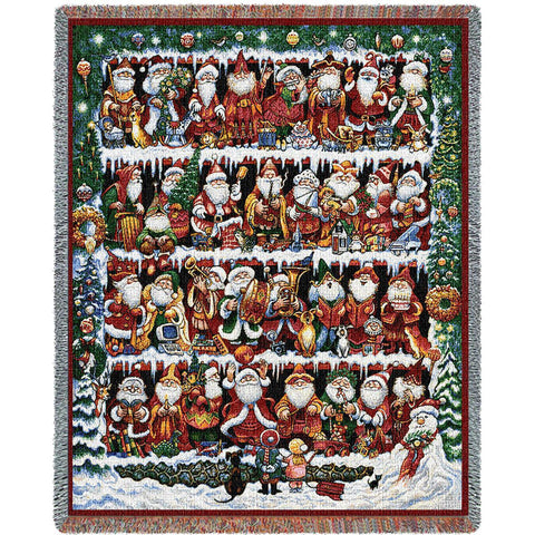 Will The Real Santa Blanket