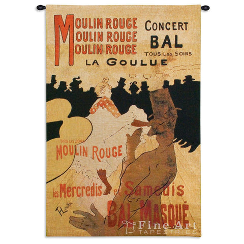 Moulin Rouge Wall Tapestry