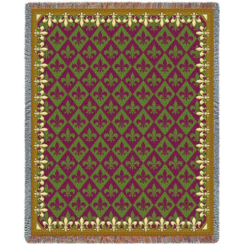 New Orleans Tapestry Blanket