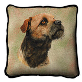Border Terrier Pillow Cover