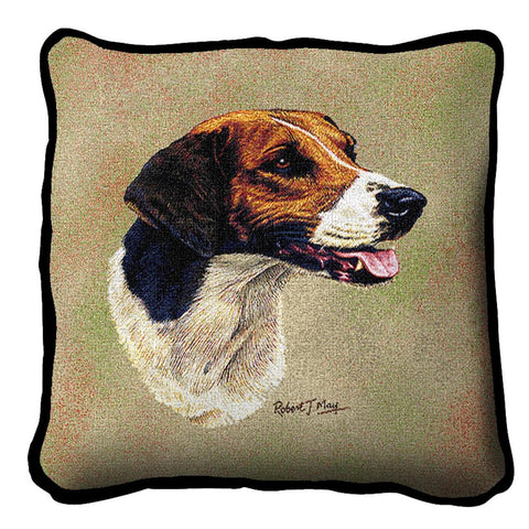 English Foxhound Pillow