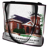 Young Harris College Chapel Tote Bag