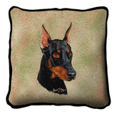 Doberman Pinscher Pillow Cover