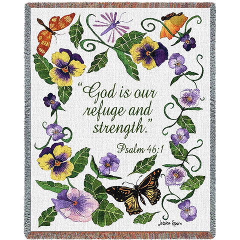 Butterflies Psalm Blanket