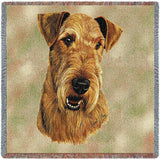 Airedale Terrier Small Blanket