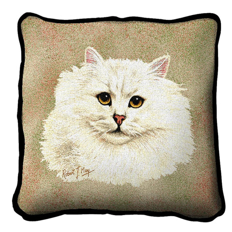 Chinchilla Persian Pillow Cover