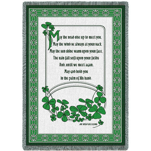 Irish Blessing II Blanket