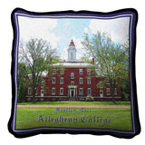 Alleghany College Bentley Hall Pillow