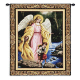 Watch Over You Wall Tapestry With Rod