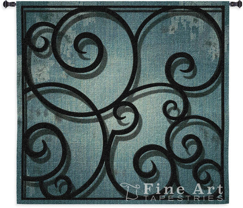Distressed Iron Wall Tapestry