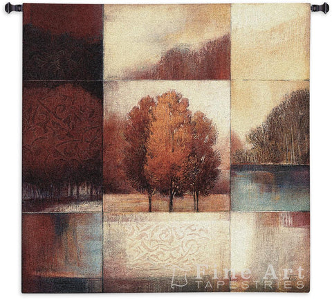 Persimmon Forest Wall Tapestry