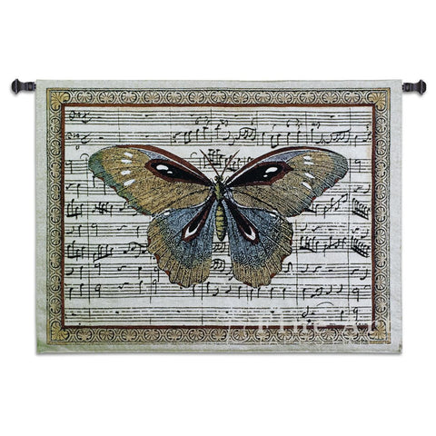Butterfly Dance I Small Wall Tapestry