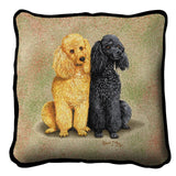 Poodles Pillow Cover