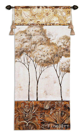 African Trees II Wall Tapestry