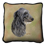 Scottish Deerhound Pillow