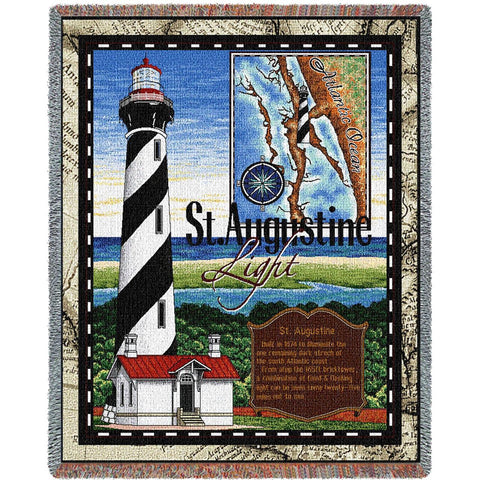 St Augustine Lighthouse Blanket