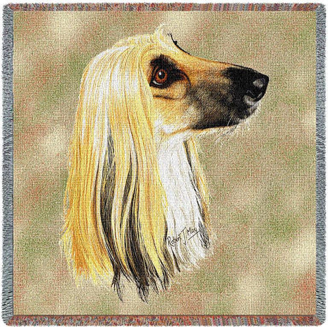 Afghan Hound Small Blanket