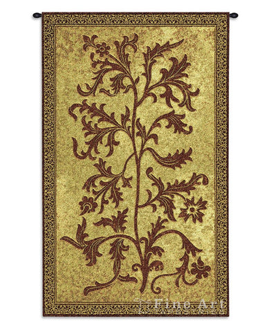 Acanthus Vine Small Wall Tapestry
