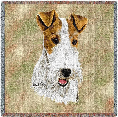 Wire Fox Terrier Small Blanket