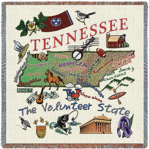 Tennessee State Small Blanket