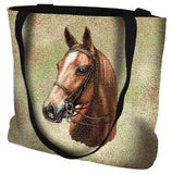 American Saddle Tote Bag