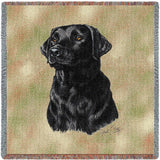 Labrador Retriever Black Small Blanket