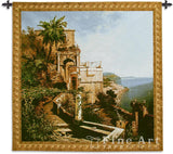 In the Garden Amalfi Coast Wall Tapestry