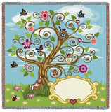Baby Tree of Life Small Blanket