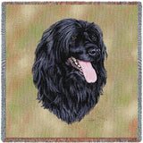 Portuguese Water Dog Small Blanket