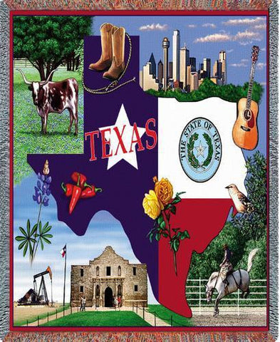 Texas Tapestry Blanket