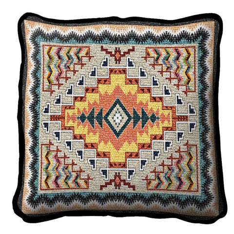 Southwest Turquoise Pillow