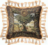 Hunting Parties of Archduke Maximilian Pillow