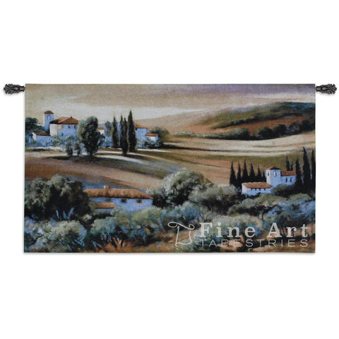 Afternoon Light In Tuscany Wall Tapestry