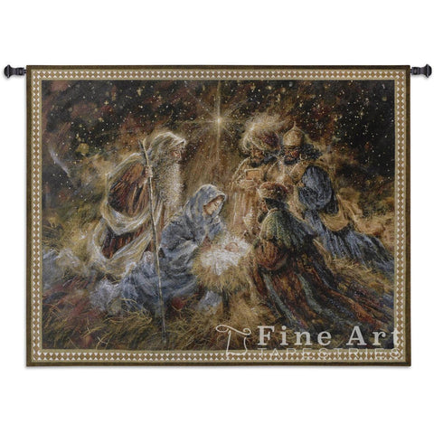 We Three Kings Wall Tapestry