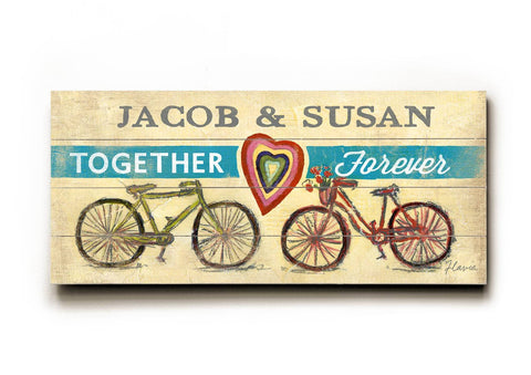 Together Forever Wood Sign 10x24 (26cm x61cm) Planked