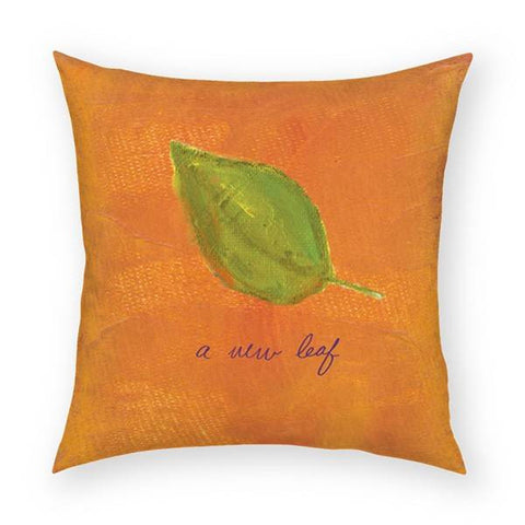 A New Leaf Pillow 18x18