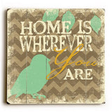 Home is wherever Pillow 18x18