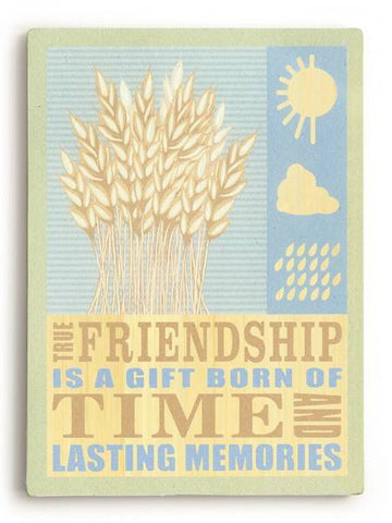 Friendship Wood Sign 14x20 (36cm x 51cm) Planked