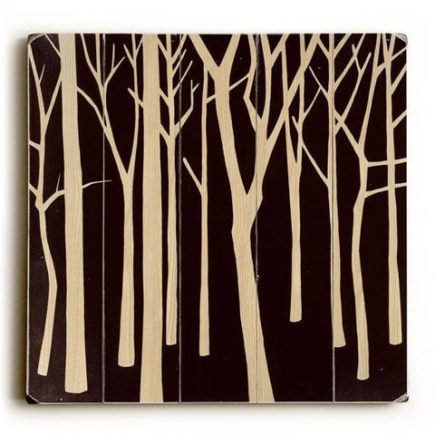Dark Forest Wood Sign 30x30 (77cm x 77cm) Planked