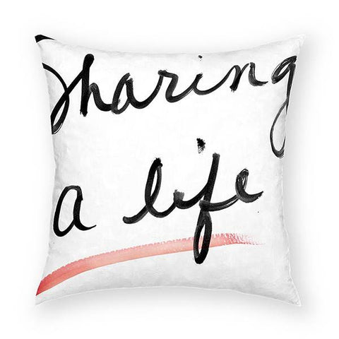 Sharing A Life 2 Pillow 18x18