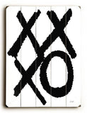 xxxo Wood Sign 30x40 (77cm x102cm) Planked