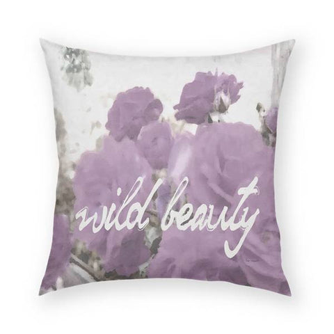 Wild Beauty Pillow 18x18
