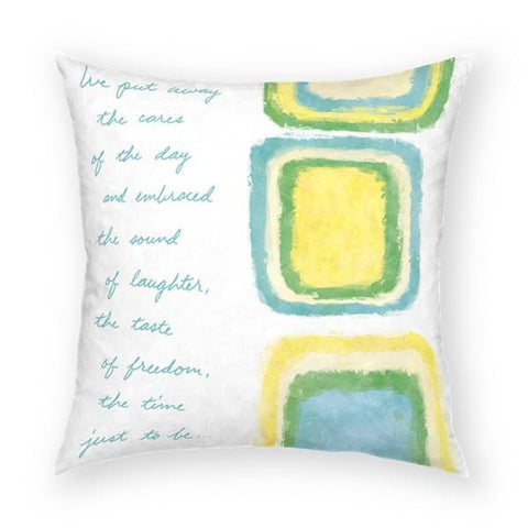 Sound of Laughter Pillow 18x18