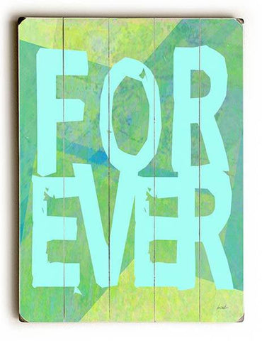Forever Wood Sign 12x16 Planked