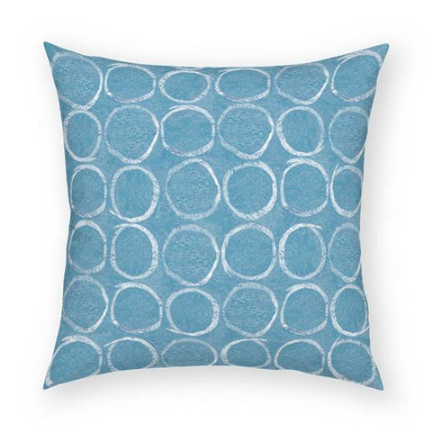 Circles Pillow 18x18