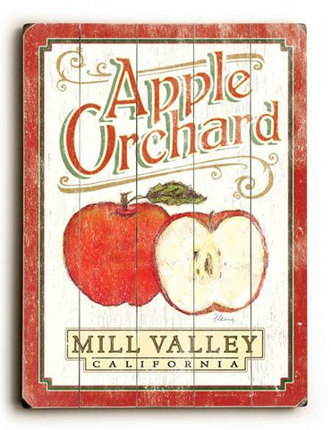 0003-1575-Orchard Wood Sign 9x12 (23cm x 31cm) Solid