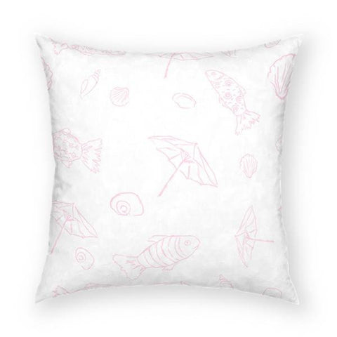A Day at the Beach Pillow 18x18