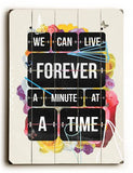 Time of your Life Wood Sign 9x12 (23cm x 31cm) Solid