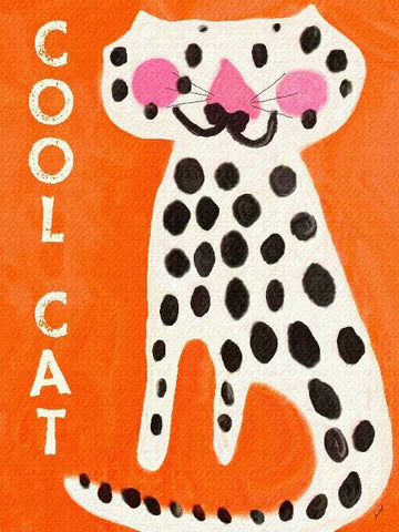 Cool Cat Wood Sign 12x16 Planked